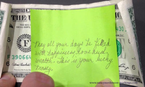 Hidden treasure: anonymous gifting and paying it forward