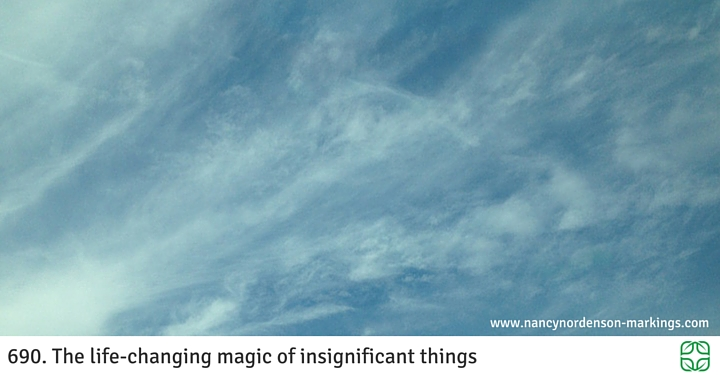 690. The life-changing magic of insignificant things