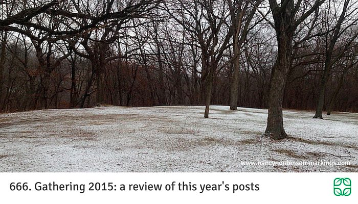 666. Gathering 2015: a review of this year's posts