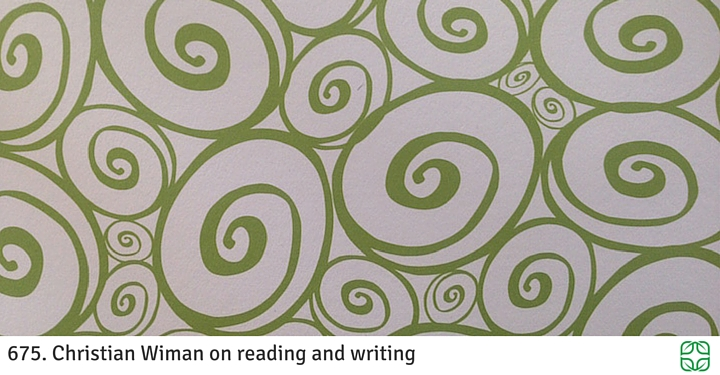 675. Christian Wiman on reading and writing