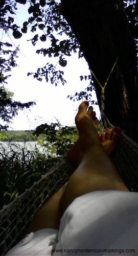 How writing the personal essay is like lying in a hammock
