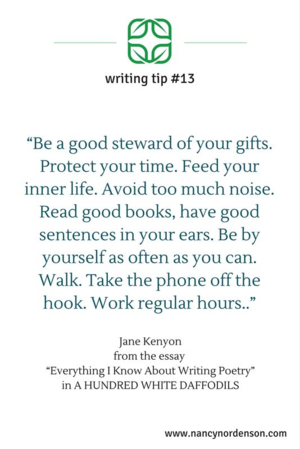 Tips for writing (aka living) on Pinterest